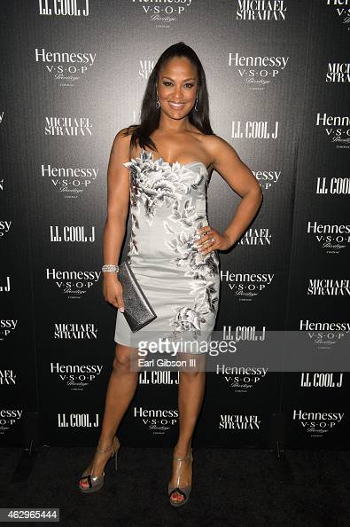 Retired Boxer Laila Ali attends the Hennessyy Toasts Achievements In Music on February 7 2015 in Los Angeles California