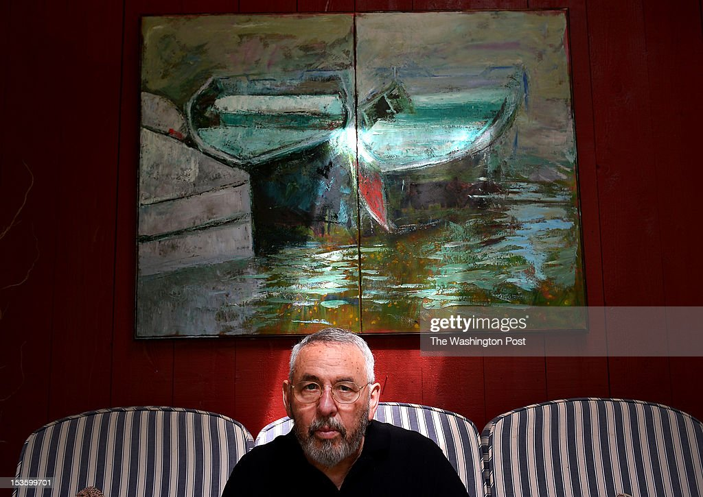 Retired CIA agent Tony Mendez whose daring rescue of a group of American diplomats from iran during their 1979 hostage crises is the subject of a blockbuster new movie called ARGO starring Ben Affleck. Photographed at his home on September 14, 2012 in Knoxville, MD