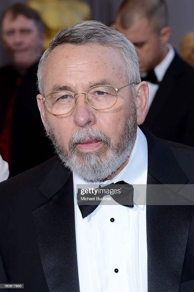 Retired CIA Tony Mendez arrives at the Oscars at Hollywood & Highland Center on February 24, 2013 in Hollywood, California.