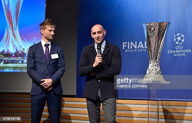 Retired Danish midfielder and Fiorentina representative Martin Jorgensen and former Spanish goalkeeper Ramon Rodriguez Verdejo aka Monchi and Sevilla...