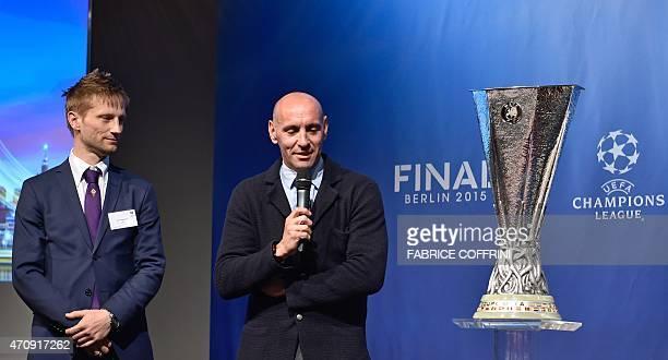 Retired Danish midfielder and Fiorentina representative Martin Jorgensen and former Spanish goalkeeper and Sevilla representative Ramon Rodriguez...