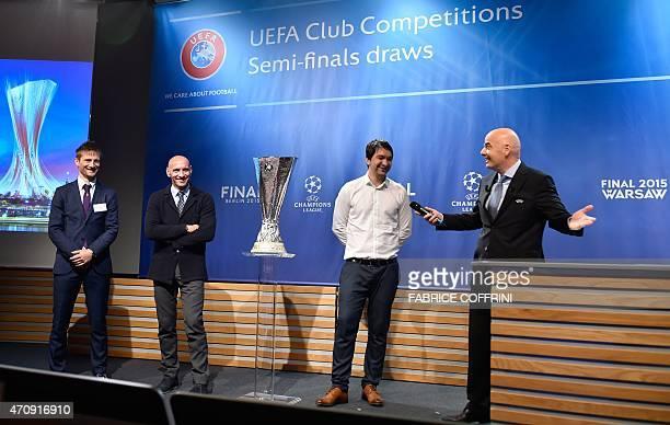 Retired Danish midfielder and Fiorentina representative Martin Jorgensen former Spanish goalkeeper and Sevilla representative Ramon Rodriguez Verdejo...