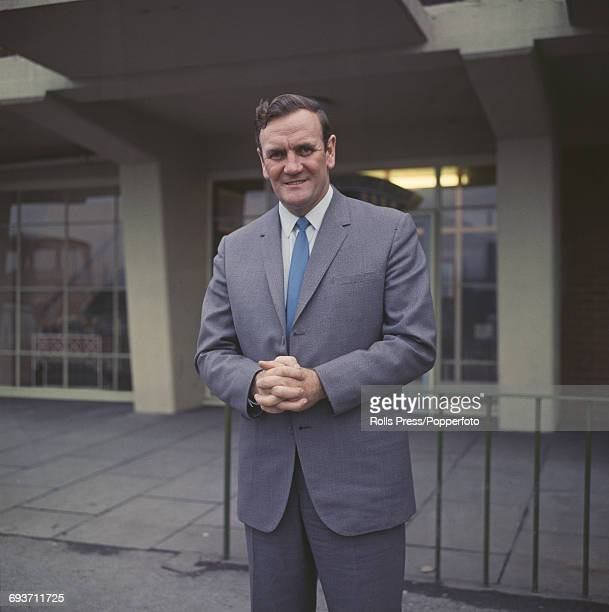 Retired English footballer and manager of Leeds United football club Don Revie posed in December 1969