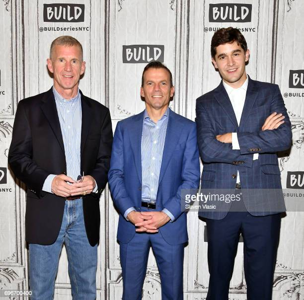Retired fourstar general Stanley McChrystal former Navy SEAL Chris FussellÊand Charles Goodyear visit Build Series to discuss Fussell's new book 'One...