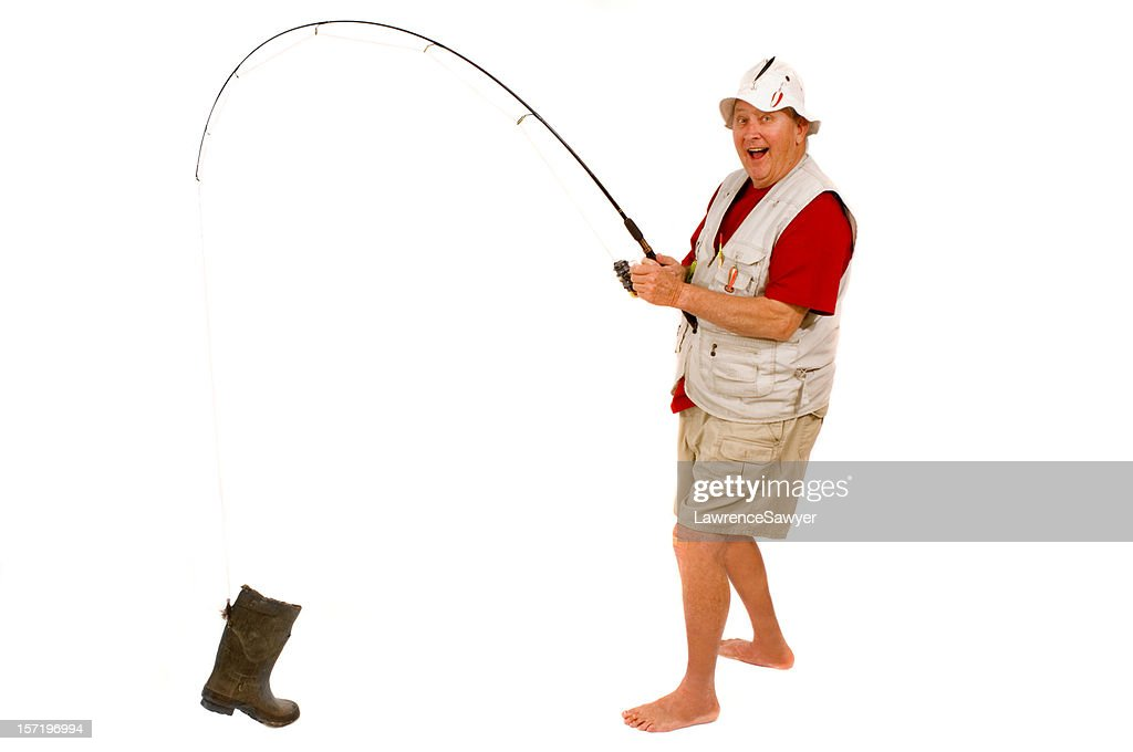 retired guy goes fishing