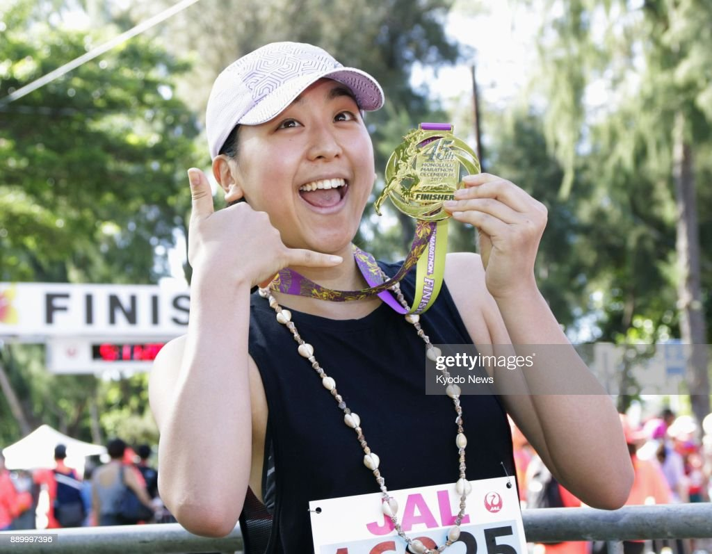 Мао Асада / Mao ASADA JPN - Страница 7 Retired-japanese-figure-skater-mao-asada-poses-after-completing-her-picture-id889997396