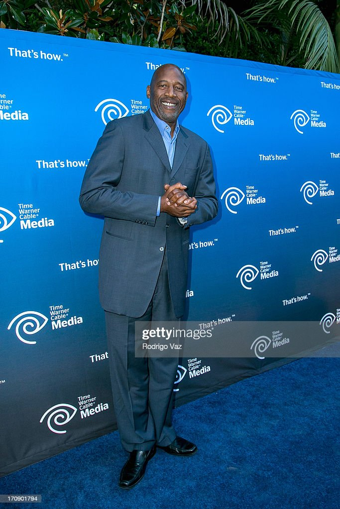Retired LA Laker and commentator James Worthy attends the Time Warner Cable Media (TWC Media) 'View From The Top' Upfront at Vibiana on June 19, 2013 in Los Angeles, California.