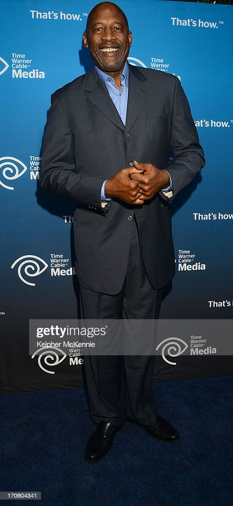 Retired LA Laker and commentator <a gi-track='captionPersonalityLinkClicked' href=/galleries/search?phrase=James+Worthy&family=editorial&specificpeople=212863 ng-click='$event.stopPropagation()'>James Worthy</a> attends Time Warner Cable (TWC Media) 'View From The Top' Upfront honoring LA Lakers' Dr. Jerry Buss at Vibiana on June 19, 2013 in Los Angeles, California.