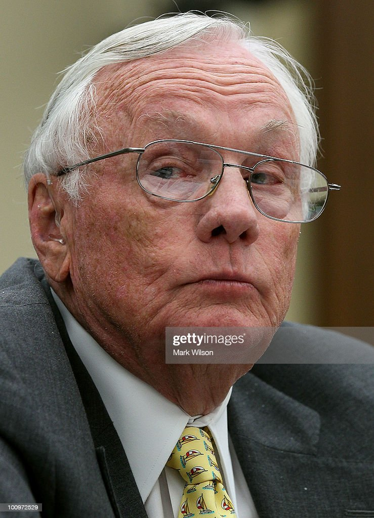 Retired NASA astronaut <a gi-track='captionPersonalityLinkClicked' href=/galleries/search?phrase=Neil+Armstrong&family=editorial&specificpeople=92197 ng-click='$event.stopPropagation()'>Neil Armstrong</a>, participtes in a hearing on Capitol Hill May 26, 2010 in Washington, DC. Armstong testified before the House Science and Technology Committee on the future of U.S. human space flight.