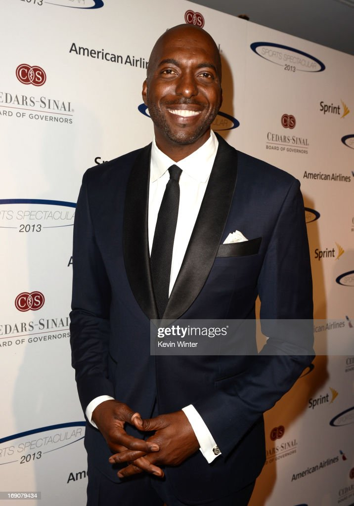 Retired NBA player and radio host <a gi-track='captionPersonalityLinkClicked' href=/galleries/search?phrase=John+Salley&family=editorial&specificpeople=215276 ng-click='$event.stopPropagation()'>John Salley</a> attends the 28th Anniversary Sports Spectacular Gala at the Hyatt Regency Century Plaza on May 19, 2013 in Century City, California.