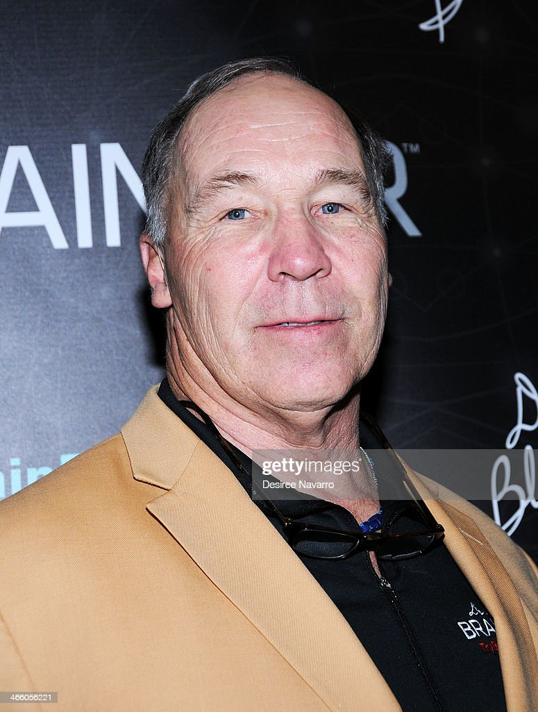 Retired NFL player Joe De Lamielleure attends Dr. Black's Brain Bar Super Bowl XLVIII Launch Event at PH-D Rooftop Lounge at Dream Downtown on January 30, 2014 in New York City.