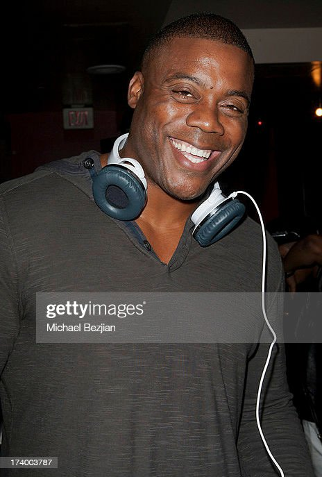 Retired NFL player Roland Williams attends Flips Audio Presents, Matt Leinart Foundation Seventh Annual Celebrity Bowl at Lucky Strikes on July 18, 2013 in Hollywood, California.