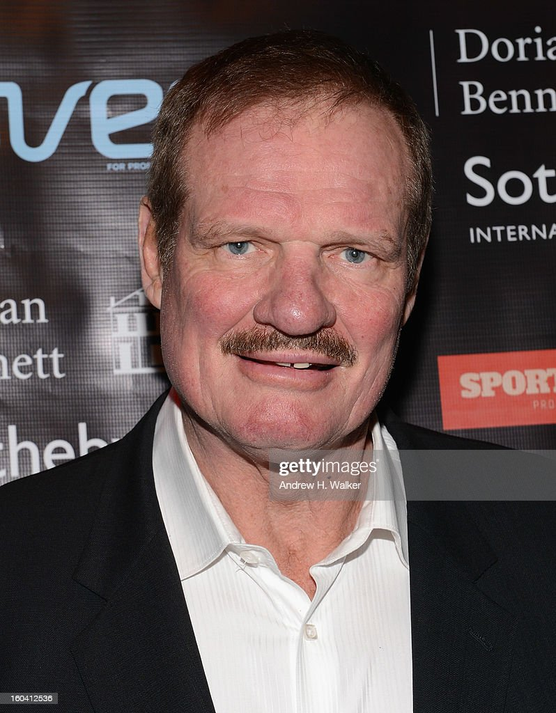 Retired NFL player Ted Hendricks attends the 6th Annual Moves Magazine Super Bowl Party at Metropolitan Nightclub on January 30, 2013 in New Orleans, Louisiana.