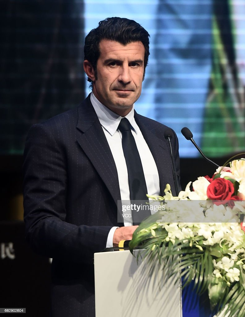 Luis Figo Attends mercial Event In Shanghai s and