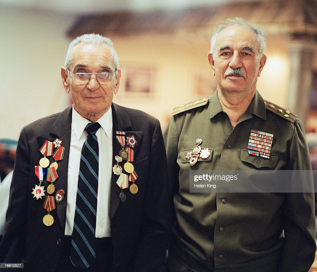 Retired Soldiers at Adult Daycare Center