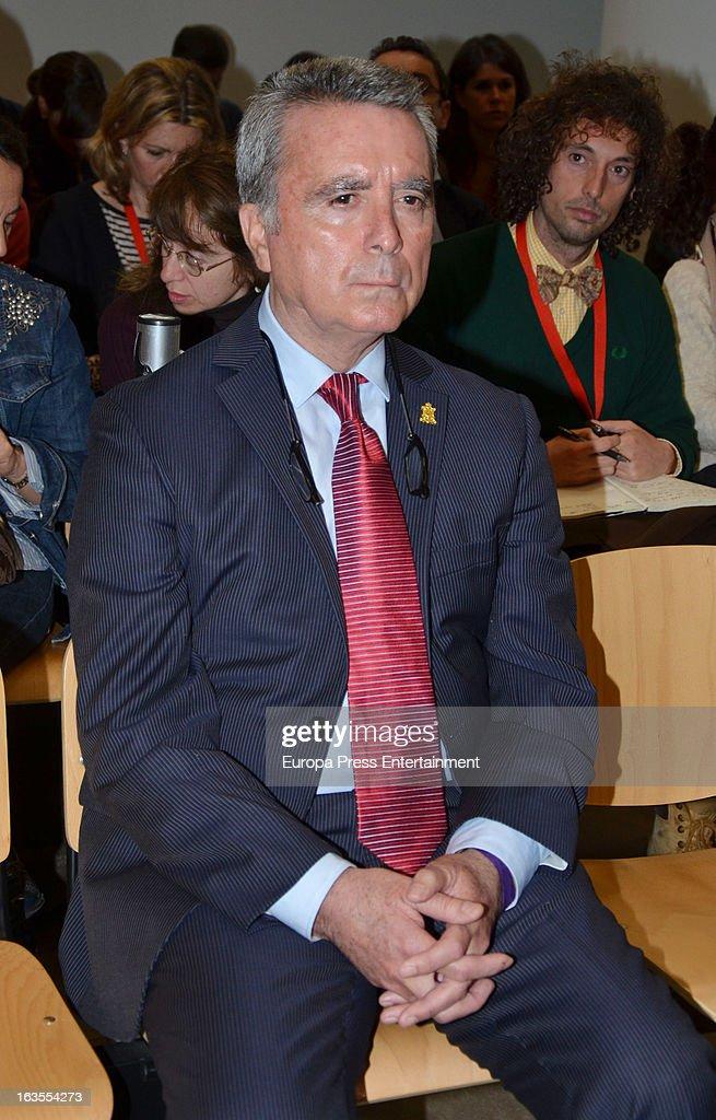 Jose Ortega Cano Attends Seville's Court