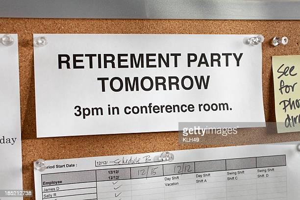 Une fête pour un départ en retraite