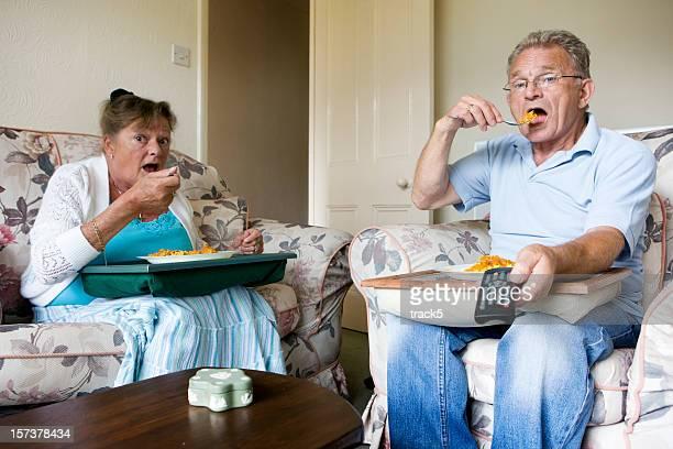 Retraite: Télévision le dîner