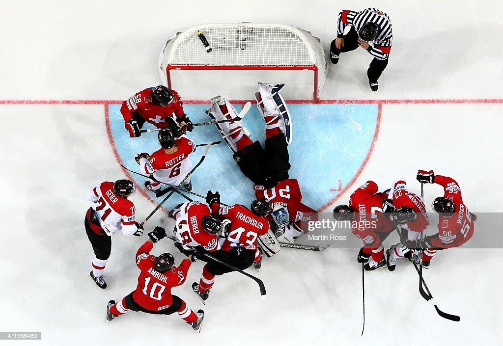 Switzerland v Austria - 2015 IIHF Ice Hockey World Championship