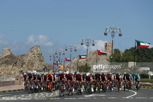 Reto Hollenstein of Swirtzerland and Team Katusha Alpecin during stage six of the 8th Tour of Oman a 1305km road stage from The Wave Muscat to Matrah...