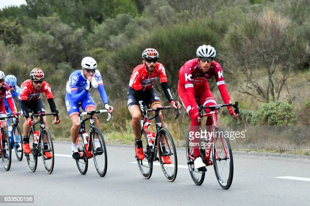 Reto Hollenstein of Team Katusha Alpecin during the stage 1 of the Etoile of Besseges on February 1 2017 in Beaucaire France