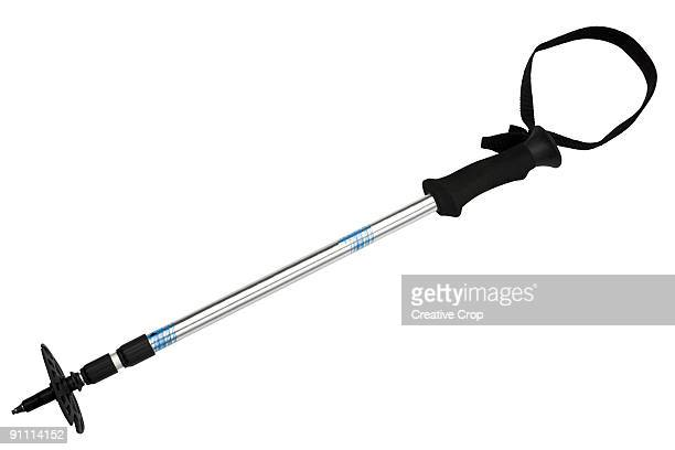 Retractable hiking stick