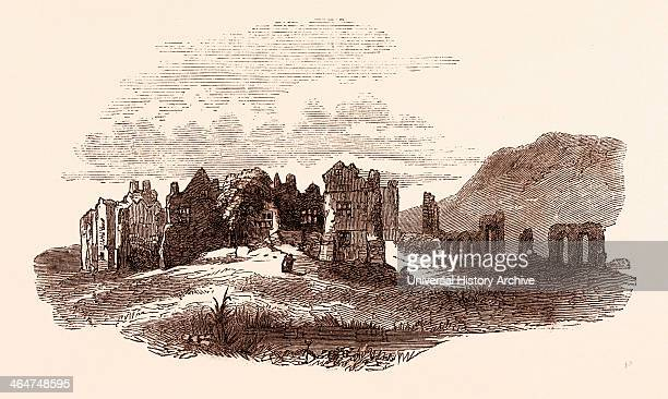Retreat Of Edward Ii To Neath Abbey A Cistercian Monastery Located Near The Presentday Town Of Neath In South Wales UK UK Britain British Europe...