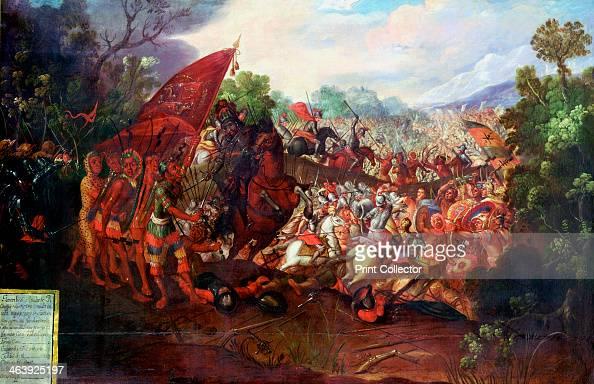 Retreat of Hernando Cortes form Tenochtitlan Mexico 1520 Hernando Cortes Spanish conquistador led an expedition to Mexico landing in 1519 Although...