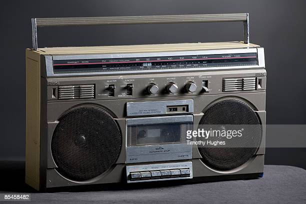 Retro analog boom box