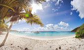 Retro Beach Pano