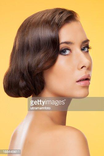 Retro Beauty : Stock Photo