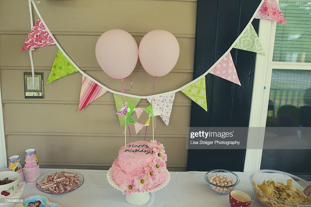 Retro cake : Stock Photo