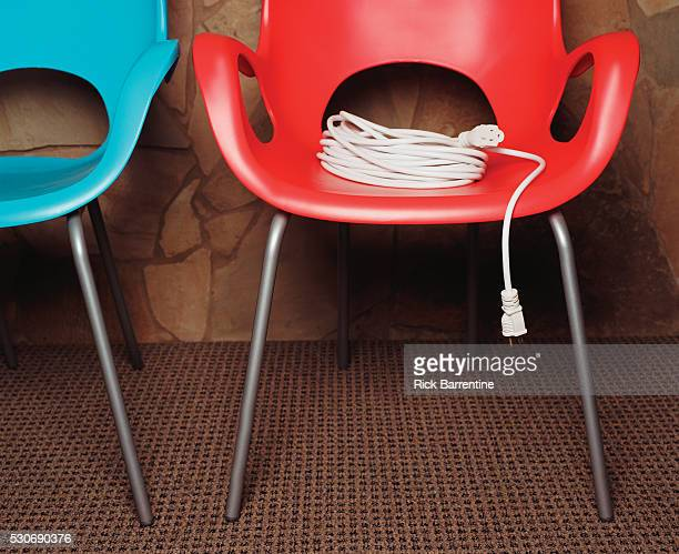 Retro Chairs with Extension Cord