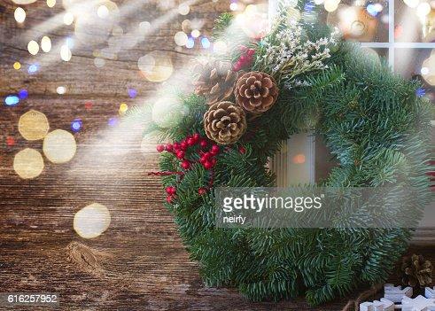 retro Natal decorações : Foto de stock
