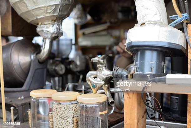 Retro coffee truck