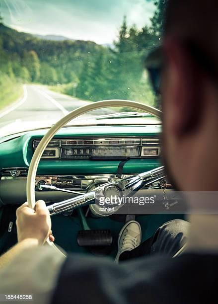 Retro-Fahrer