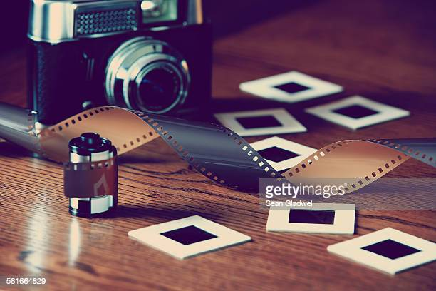 Retro film photography