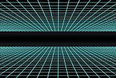 3d grid from the 80s