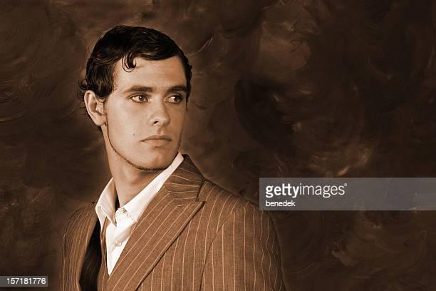 Retro Gentleman Portrait