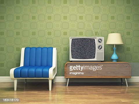 Retro interior design stock photo getty images - Retro interior design ...