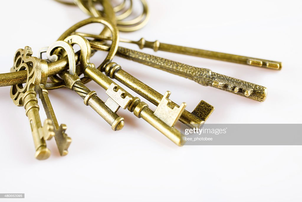 Retro Keys : Stock Photo