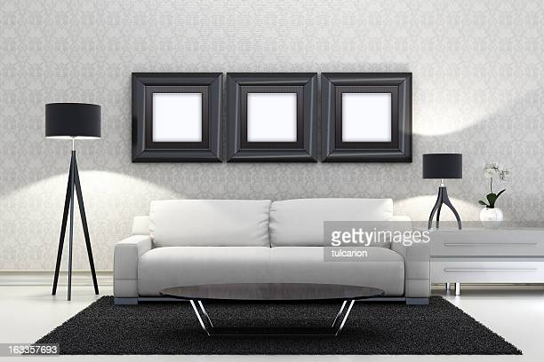 Retro-Lounge-Zimmer