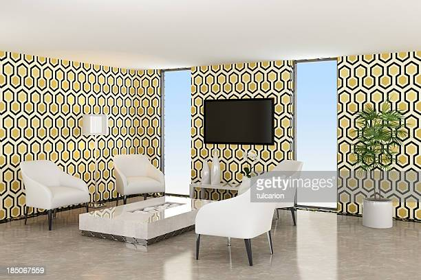 Retro Lounge Sala de TV