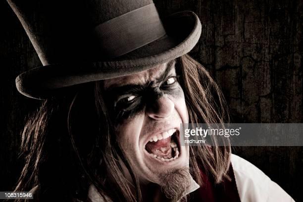 Retro Mad Hatter Portrait