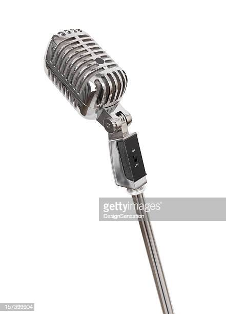 Retro Microphone (+clipping path, XXL)