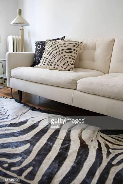 Retro Modern White Interior