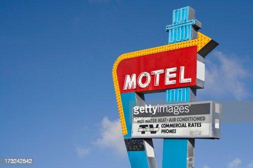 Retro Motel Sign