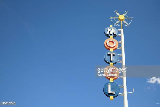 Retro Motel Sign Route 66