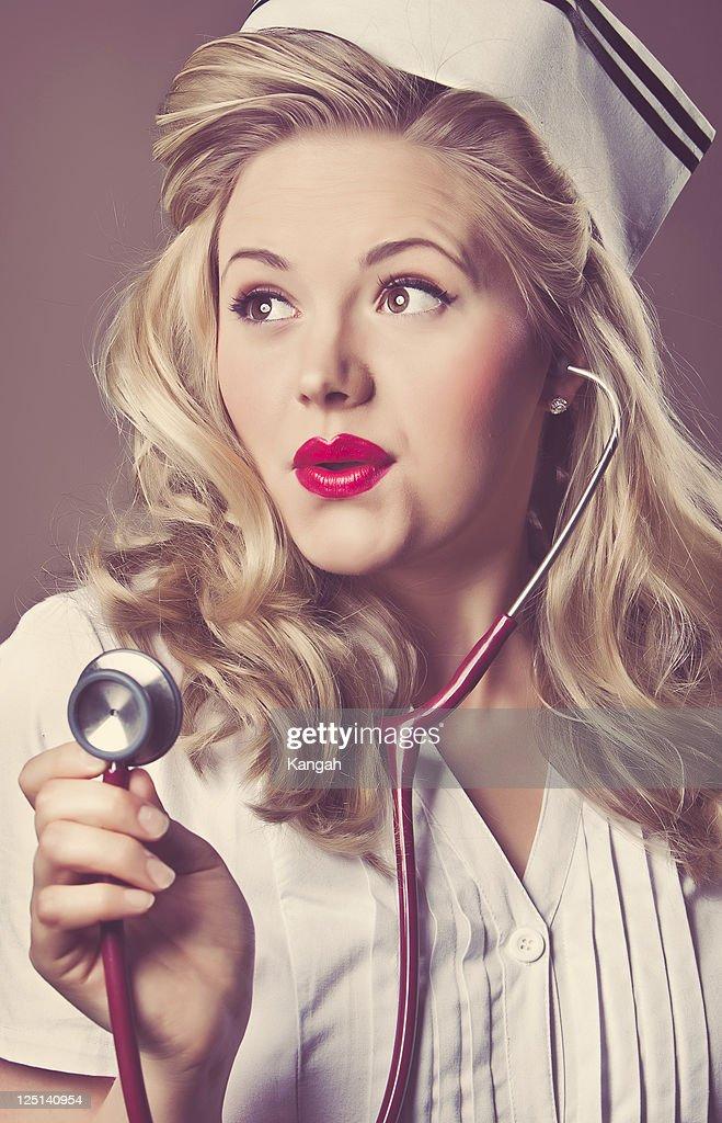 Heiße Krankenschwester