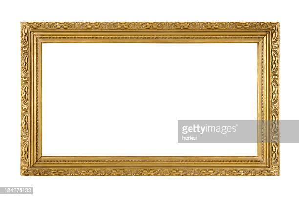 Retro Old Gold Frame